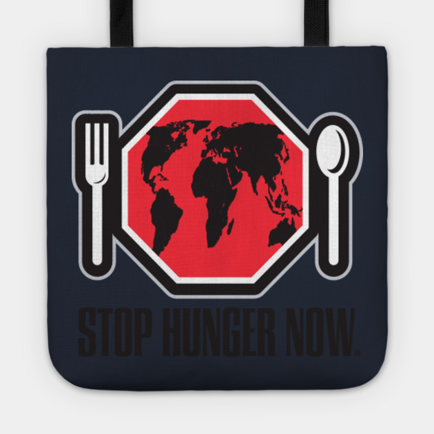 Stop World Hunger Tee D World Hunger Tote Teepublic