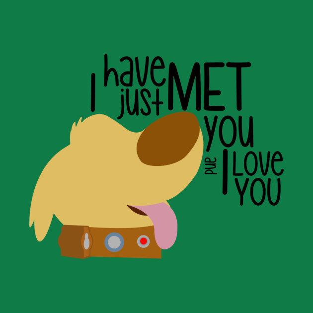 I have just met you & I love you
