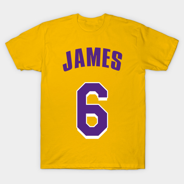 buy popular 9cc3b 27754 LeBron James New Lakers Jersey