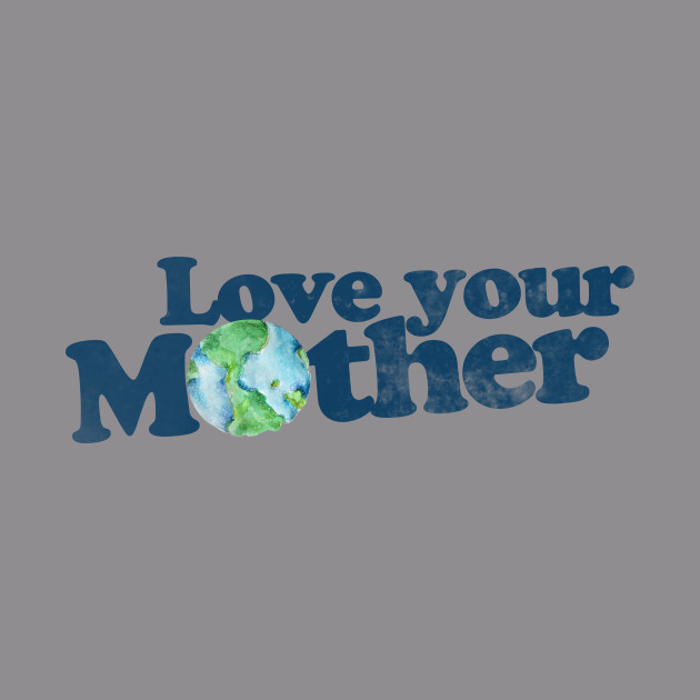 f5d34c3c69c9 Vintage love your mother earth day - Earth Day - Hoodie