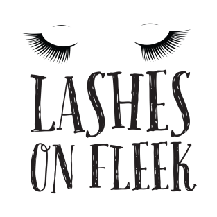 Lashes On Fleek t-shirts