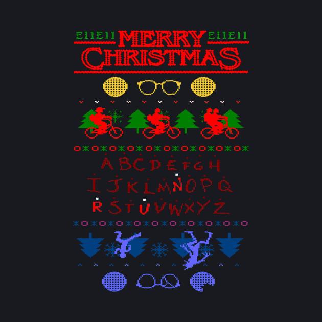 STRANGER THINGS CHRISTMAS