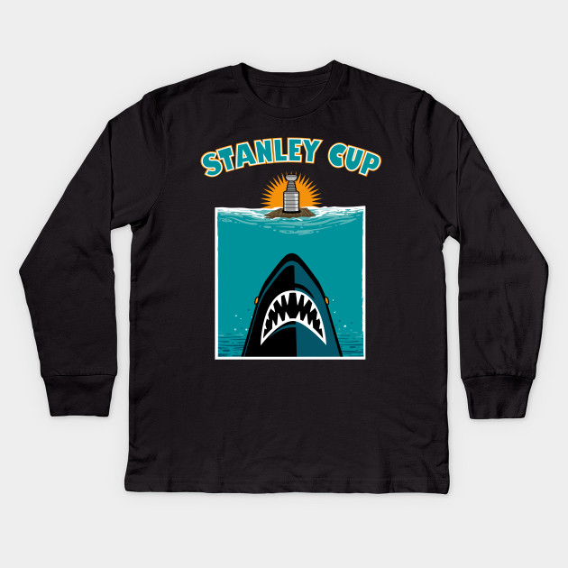 5bf8b3f1d Jawsome - San Jose Sharks - Kids Long Sleeve T-Shirt