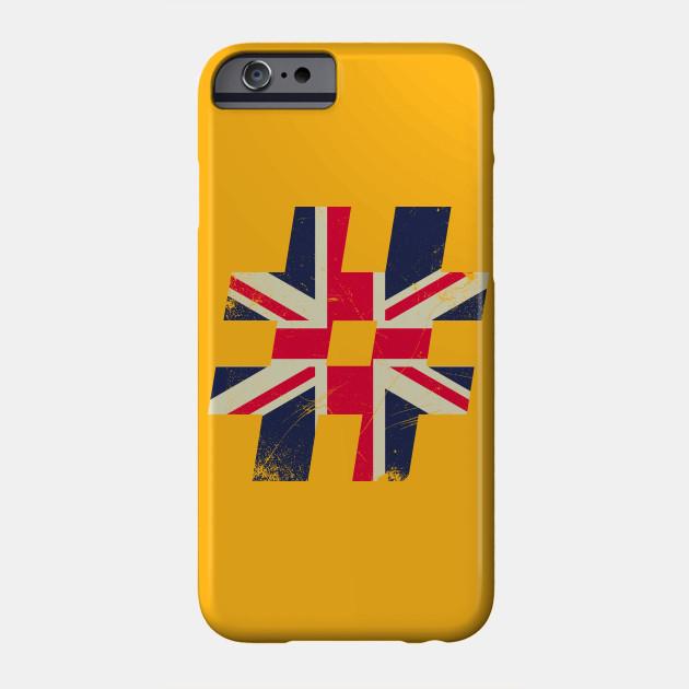 British Pound Great Britain Flag Phone Case Teepublic