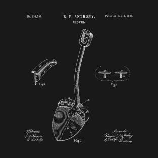 7ebed2e8ae Original Shovel 1885 Patent Vintage Retro Graphic Tee T-Shirt