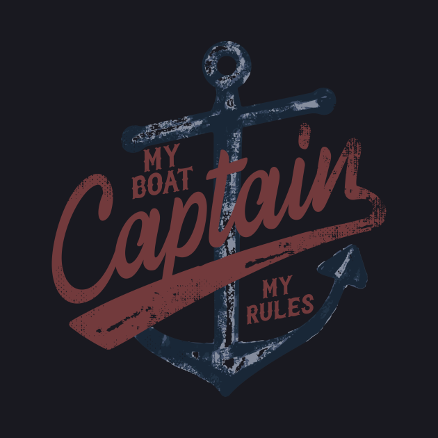 My Boat My Rules Captain