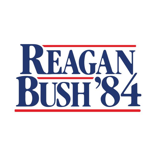 Vintage 80s Stranger Things Reagan Bush 84 Reagan Bush