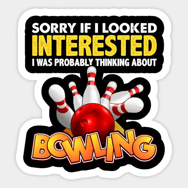 Bowling Gift - Bowling Ball - Sticker