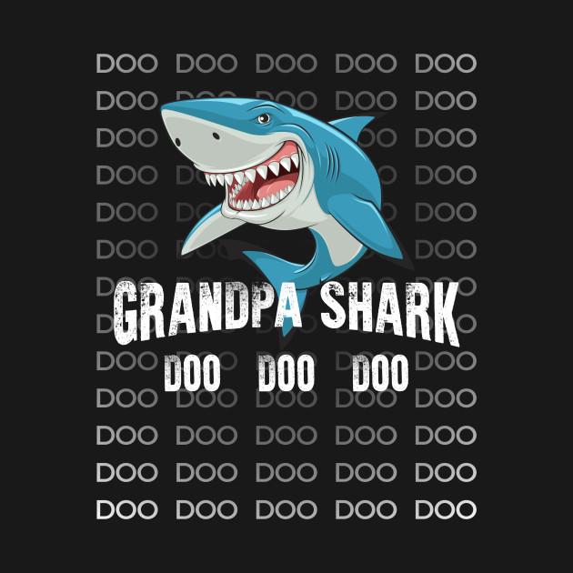 12bd853d Grandpa Shark Shirt Doo Doo Matching Family Shark T-Shirt - Baby ...