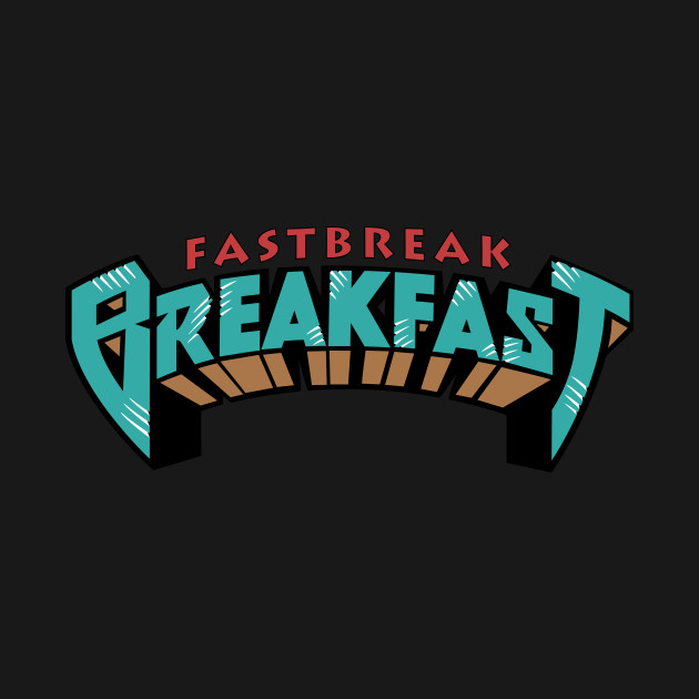 Fastbreak Breakfast Throwback Grizzlies logo