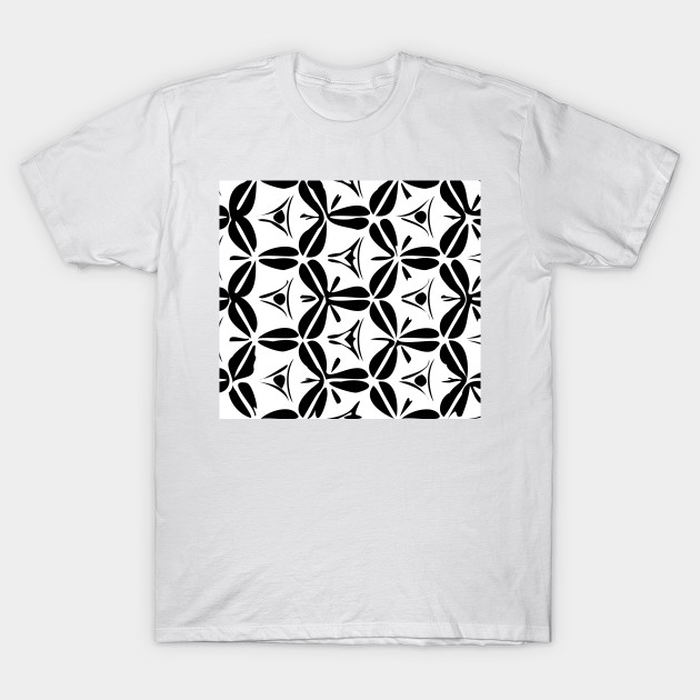 Modern Black and White Pattern