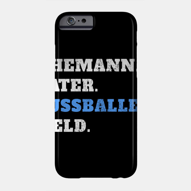 Husband father footballer hero father's day father Phone Case