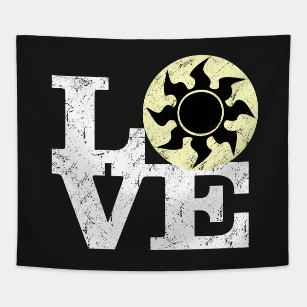 Love White Mana Magic The Gathering Magic The Gathering Tapestry