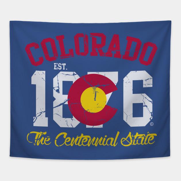 Colorado 1876 The Centennial State
