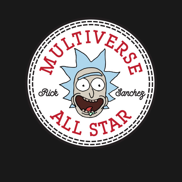 Rick And Morty Rick Converse Multiverse All Star