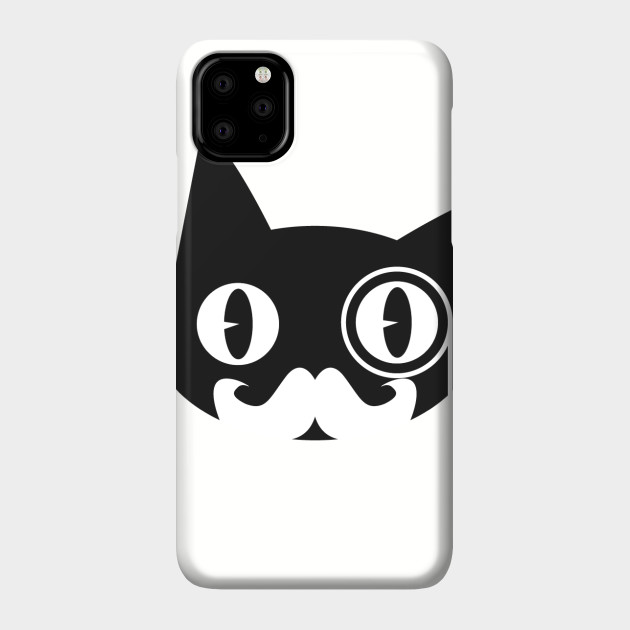 Sphinx Cat with Monocle iphone 11 case