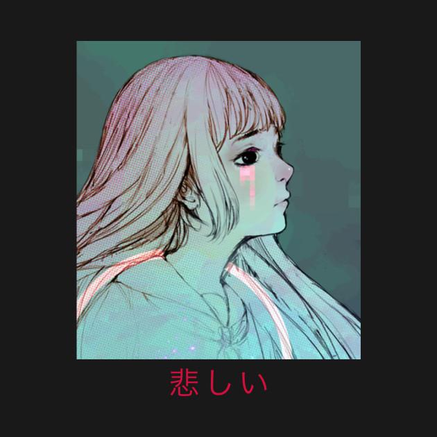 Sad Girl Vaporwave Aesthetic
