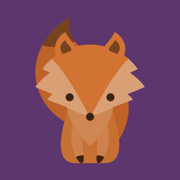 Cute Baby Fox Cartoon
