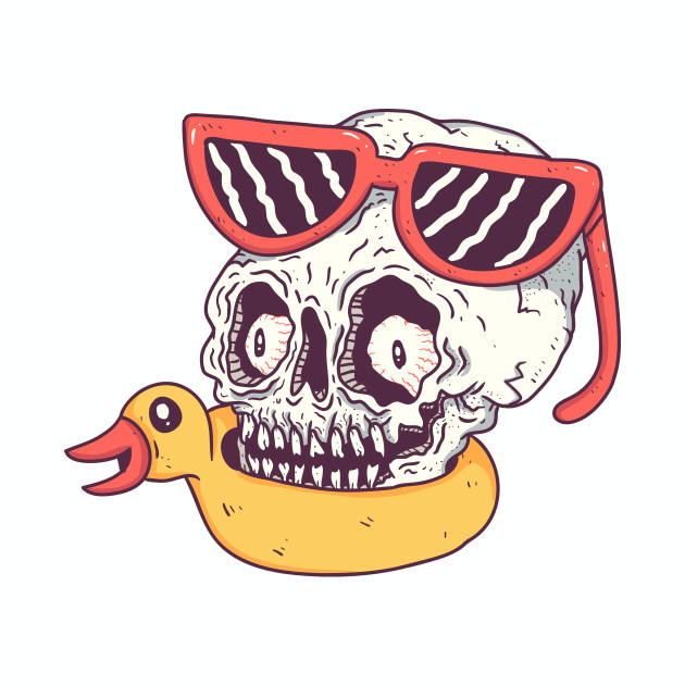 beach skull
