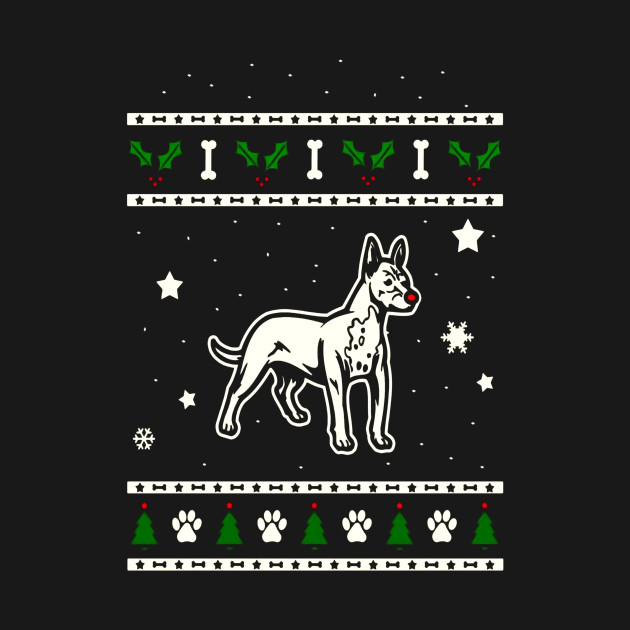 Mexican Hairless Dog Christmas Gift Idea
