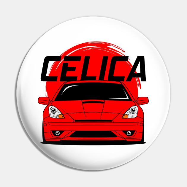 Red Celica JDM
