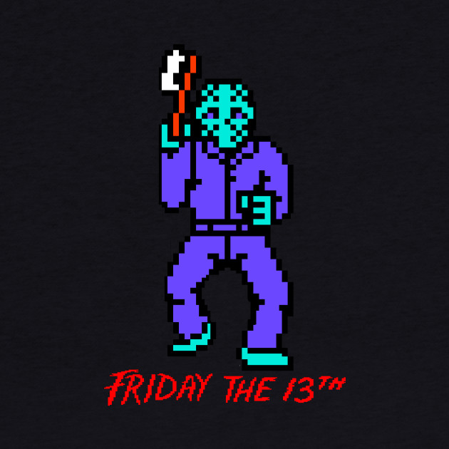 Friday the 13th NES Tee