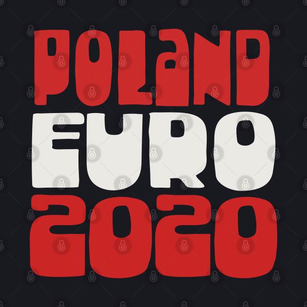 Poland Euro 2020 Soccer Gift Design
