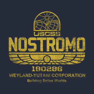 Nostromo t-shirts