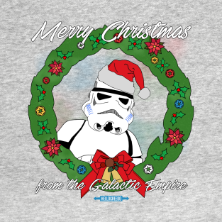 Merry Christmas from the Empire! t-shirts