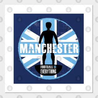 Manchester City Fc Posters And Art Prints Teepublic