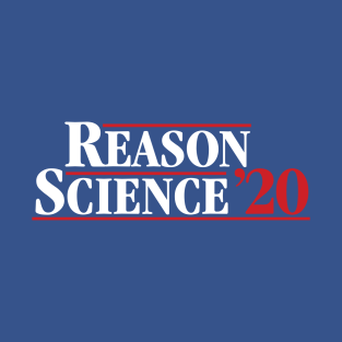 Reason/Science '20 t-shirts