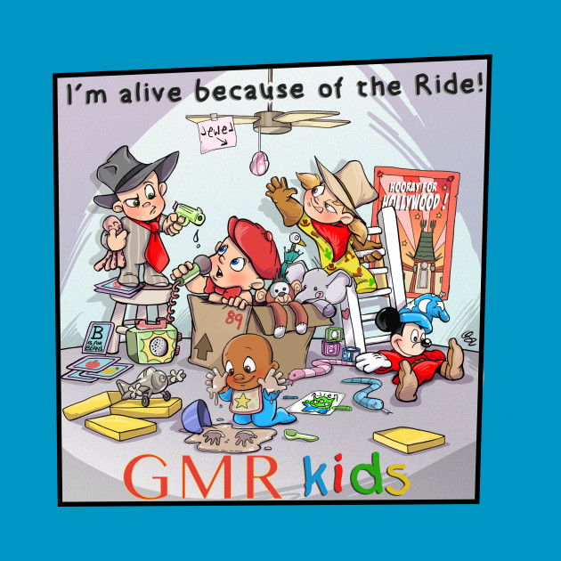 GMR Great Movie Ride Kids I'm Alive Because of the Ride