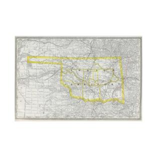 Oklahoma Map T-Shirts | TeePublic on map okc ok, google maps newkirk ok, counties in oklahoma city ok, downtown oklahoma city ok, city of broken arrow ok,