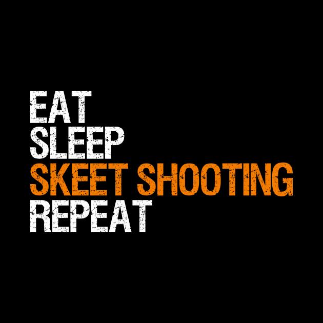 skeet shooting clay pigeon shooter gift