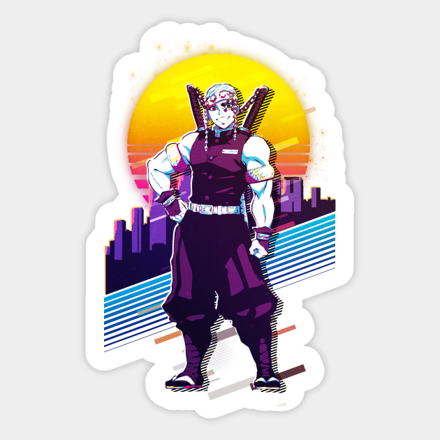 Kimetsu No Yaiba Tengen Uzui Tengen Sticker Teepublic Suma will outwardly whine about how she wanted to spend time with you first, while the other two try their. teepublic