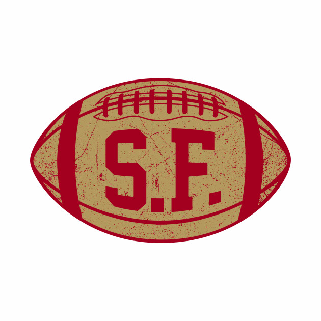 SF Retro Football - Red