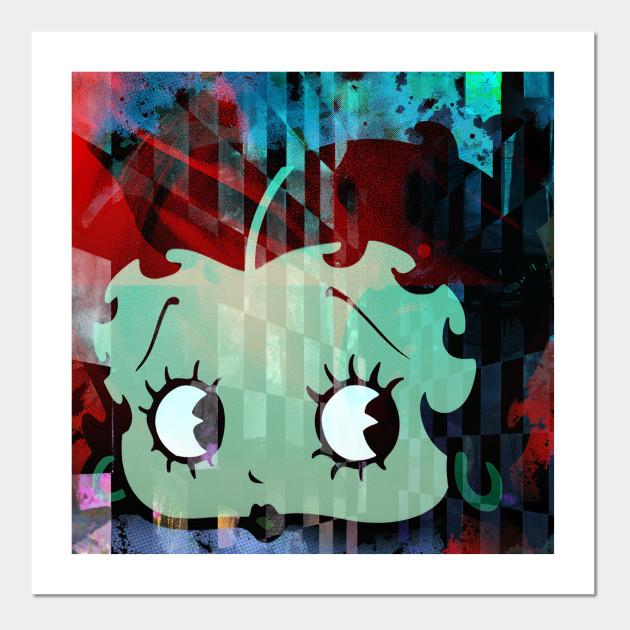 Betty Boop Dark Night Bettyboop Posters And Art Prints Teepublic