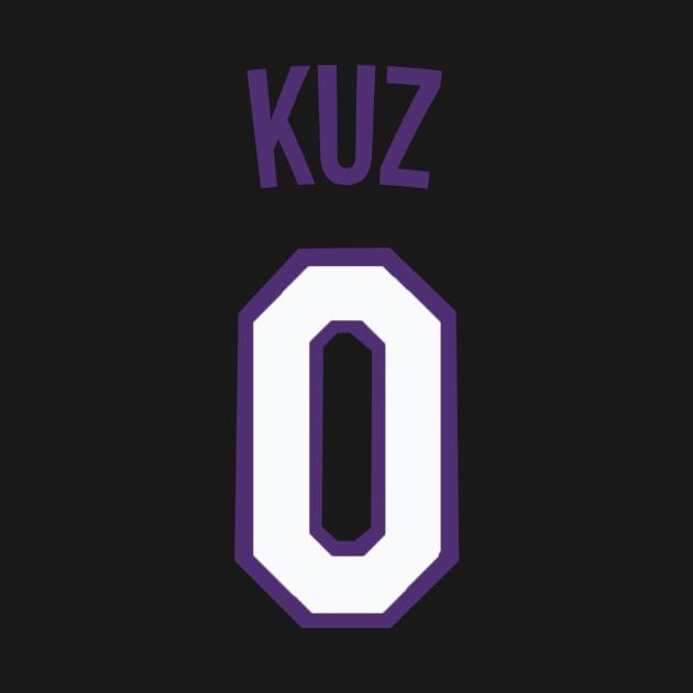 0dcdf744ef5 Kyle Kuzma  KUZ  Nickname Jersey - Los Angeles Lakers - Nba - Kids T-Shirt
