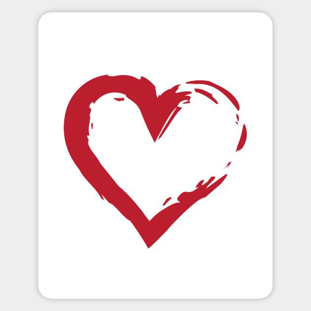 Heart Symbol Heart Sticker Teepublic