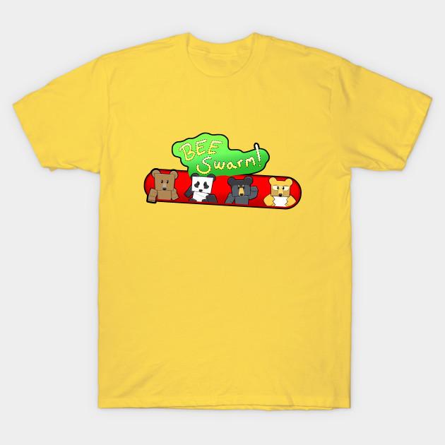 Bee Swarm Bears Bee Swarm Simulator T Shirt Teepublic