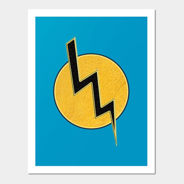 Lightning bolt - Lightning Bolt - Wall Art | TeePublic