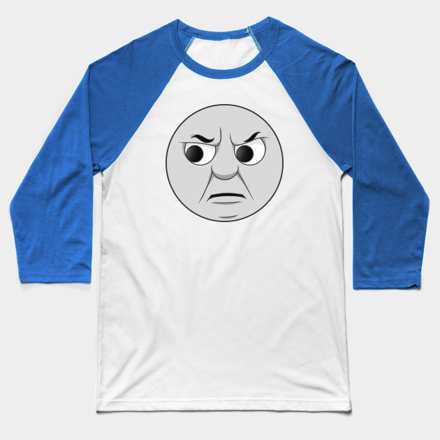 Thomas grumpy face Baseball T-Shirt