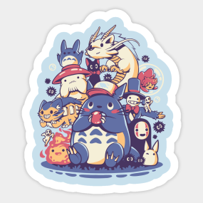 Anime Stickers Teepublic