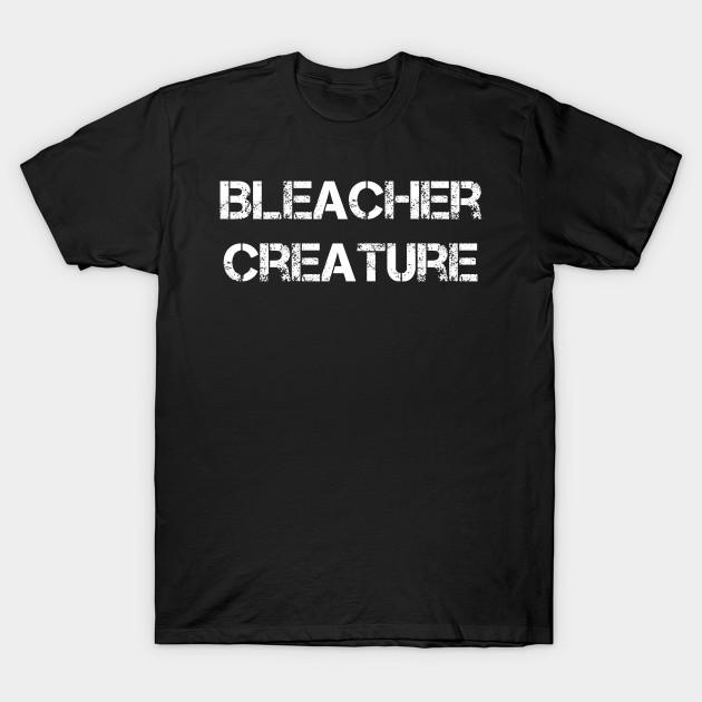 New York Baseball Shirt Sports Fan BLEACHER CREATURE T