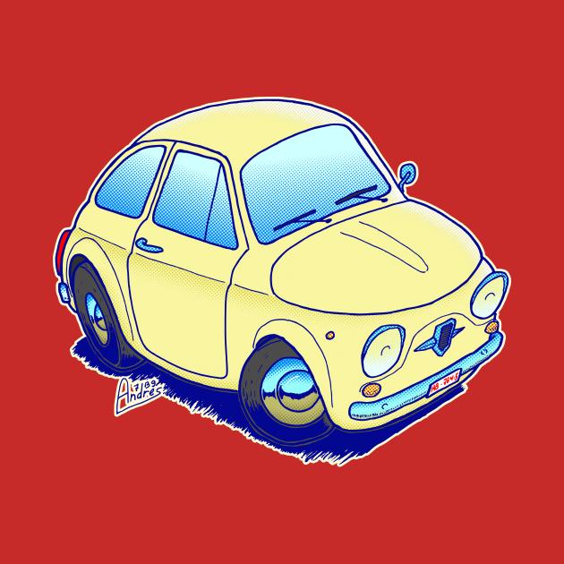 Classic Fiat Cinquecento just the car