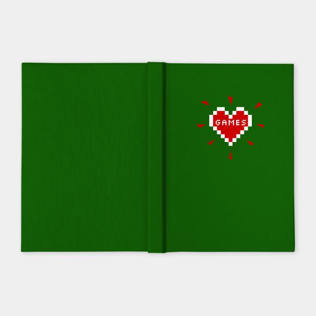 Games Heart - Gamer Merch for Girls