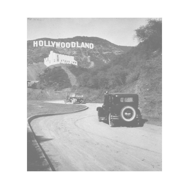 hollywoodland vintage photo tee hollywoodland crewneck