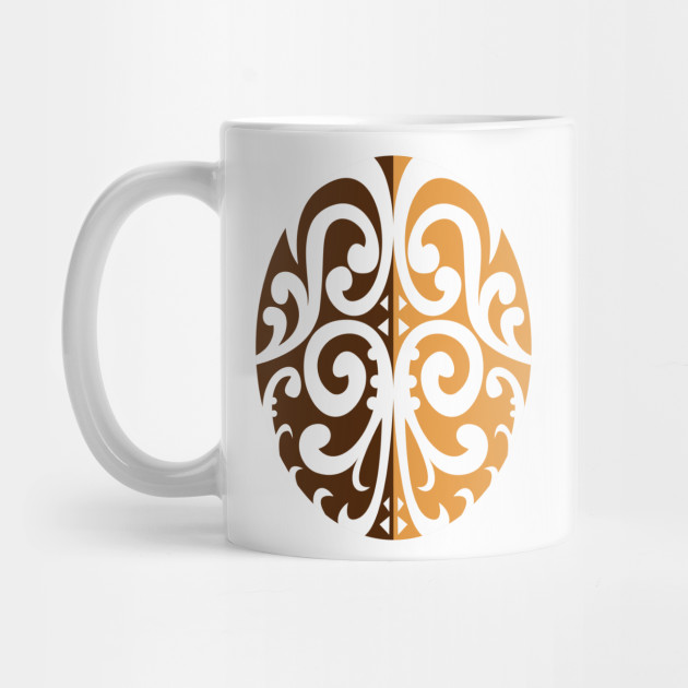 58b3a922c83 Coffee Bean with Maori Motif by patrimonio
