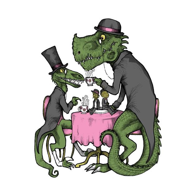 Jurassic Tea Party