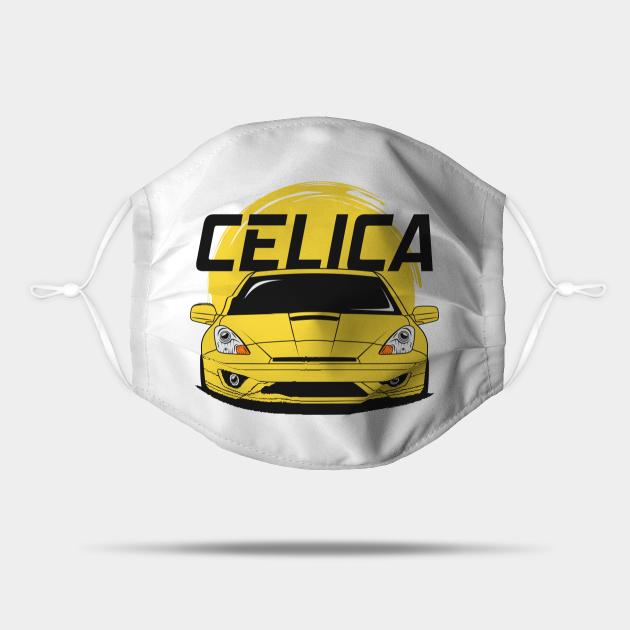 Yellow Celica JDM